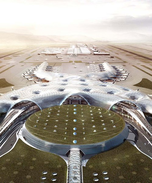 foster + partners and FR-EE's mexico city airport to continue construction (for now) despite threats