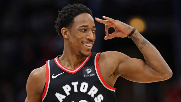 DeMar DeRozan with classy goodbye to Toronto fans
