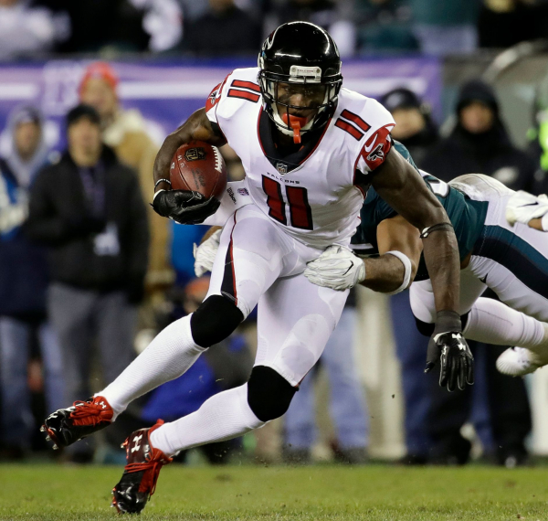 AP source: Falcons wont offer WR Jones new deal this year