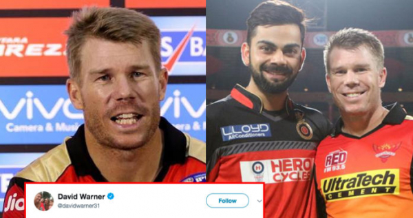 David Warner Is Very Confident About Making A Comeback In IPL And World Cup Next Year