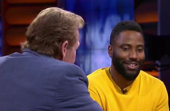 John David Washington makes his prediction for LeBron's first season with the Lakers