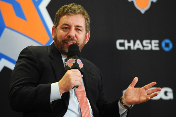 James Dolan: 'We're Not Going to Sell' the Knicks