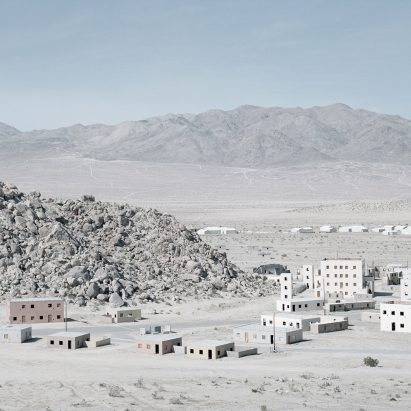 Gregor Sailer depicts fake cities in The Potemkin Village photography series
