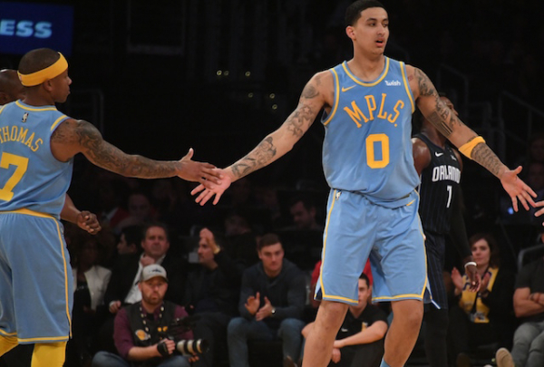 Lakers News: Isaiah Thomas Calls Kyle Kuzma 'Another Special Young Talent In This League'