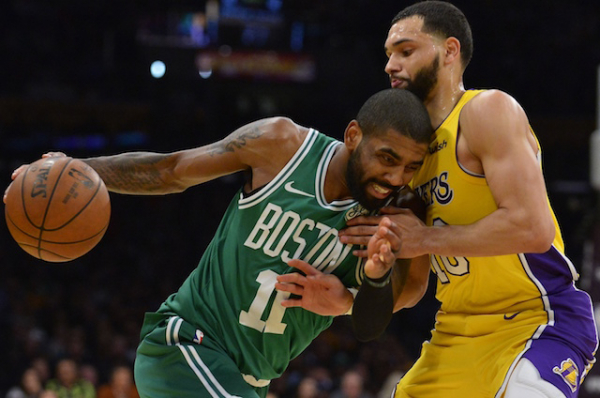 ESPN Summer Forecast Deems Lakers Among Likely Teams To Sign Kyrie Irving In Free Agency