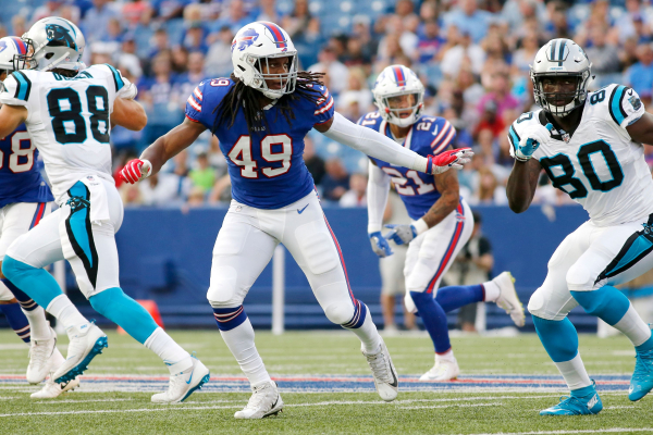 Bills count on LB Edmunds ability to counter growing pains
