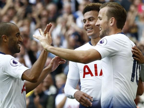 Kane relieved to break August goal duck in Tottenham's Wembley win over Fulham