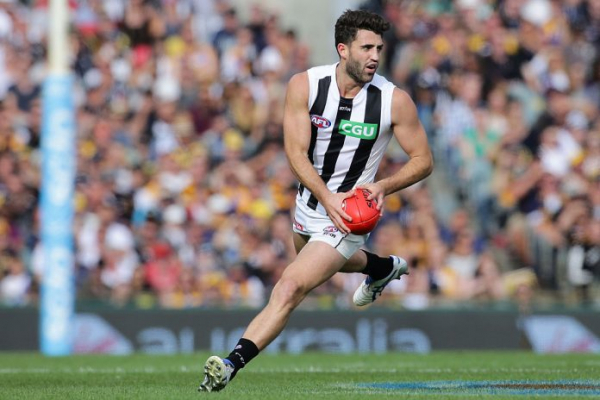 REPORTS: Magpie facing the exit door, linked to Carlton