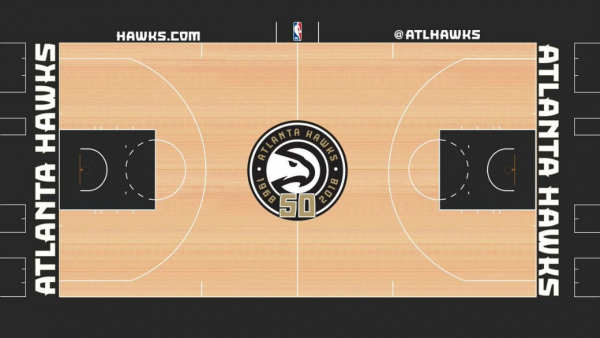 Atlanta Hawks Reveal Throwback Uniforms, New Court for 2018-19 Season ?