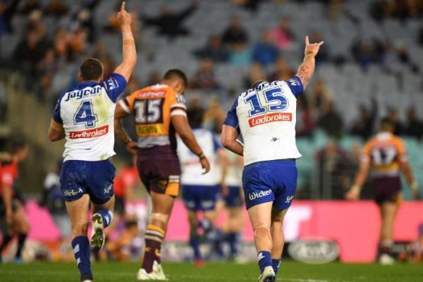 Bulldogs hand Broncos upset NRL loss