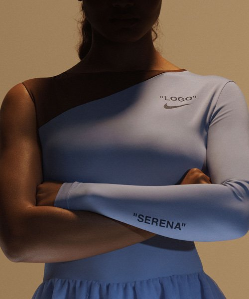 virgil abloh designs NIKE collection for serena williams' US open comeback