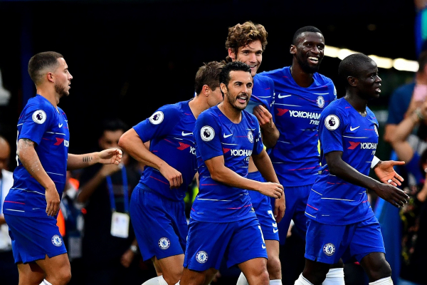 Chelsea 3 Arsenal 2: Behind the scenes at Stamford Bridge as Maurizio Sarri wins opening battle with Unai Emery