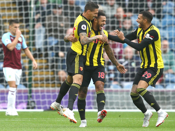 Watford find form away from home to beat Burnley who continue to suffer after European commitments