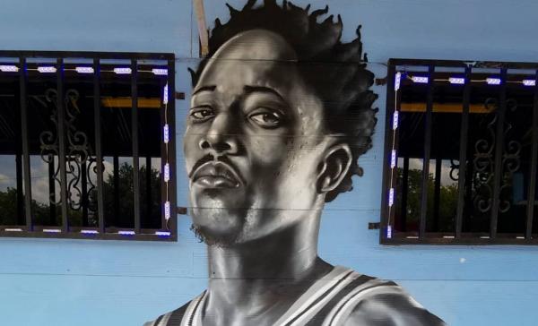 DeMar DeRozan already has a mural in San Antonio