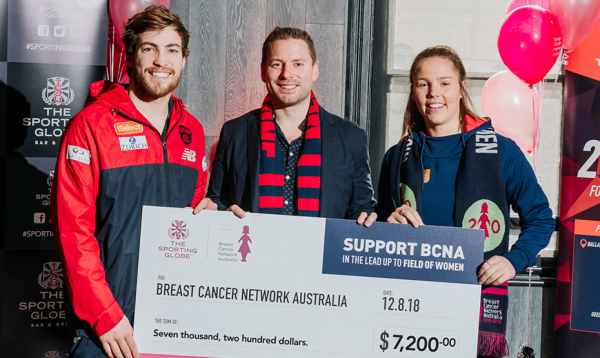 Melbourne partner raises funds for BCNA