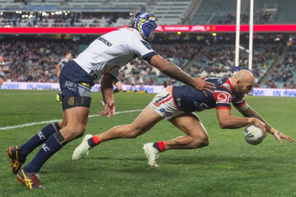 Roosters down the Cowboys as Eels, Warriors get the points
