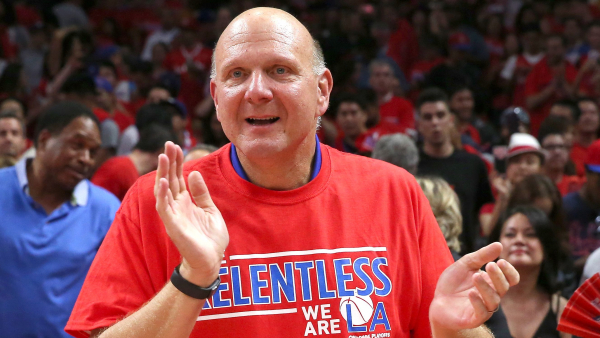Clippers owner Steve Ballmer: 'I think we got higher expectations on us than the long, hard five, six years of absolute crap like the 76ers put in'