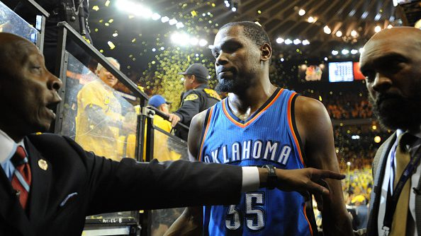 Did Kevin Durant choose Warriors within day of Thunder losing to them in 2016?