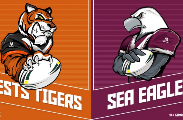 NRL $3,000 WEST TIGERS VS SEA EAGLES SPECIAL