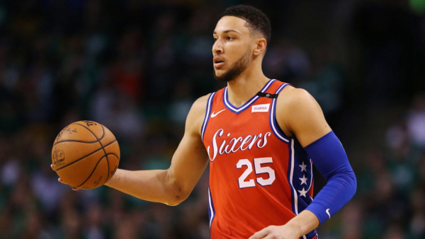 Ben Simmons laughs at talk of him shooting right-handed