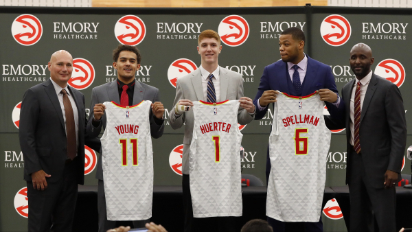 Hawks progressing nicely in rebuild