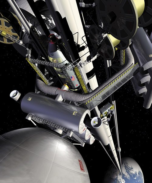 japanese researchers are trying to build an elevator to space