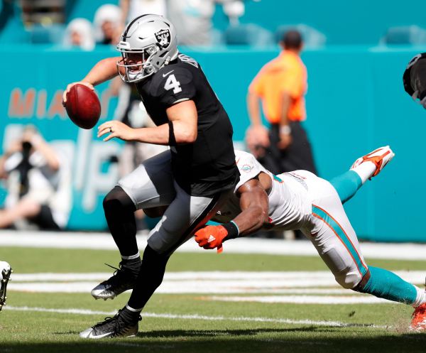 Another poor finish sends Raiders to 0-3 start under Gruden