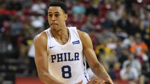 Report: 76ers rookie Zhaire Smith expected to return around Christmas