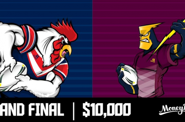 NRL Grand Final $10,000 Roosters V Storm Special