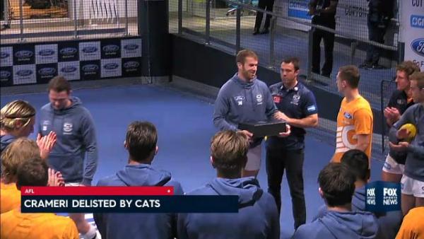 Geelong Wacky Wednesday 2018: Kane Cornes whacks Cats' post AFL season celebrations