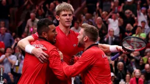 Laver Cup: Kevin Anderson gains revenge over Novak Djokovic