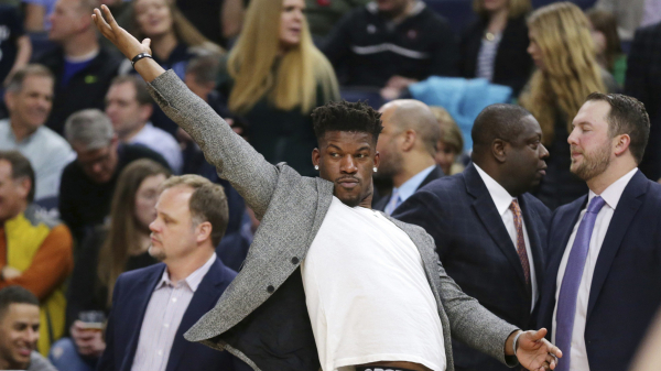 Report: Jimmy Butler wanted Timberwolves to add four years, $155 million to his contract this summer