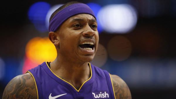 After hip surgery, Isaiah Thomas not 100 percent for start of Denver training camp