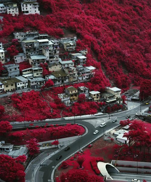 infrared photography shot by vicente muñoz encapsulates urbanization vs. nature