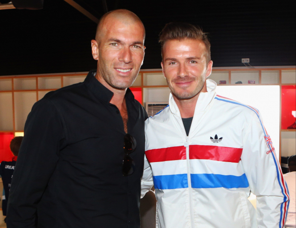 How David Beckham could ruin Manchester United's chances with Zinedine Zidane