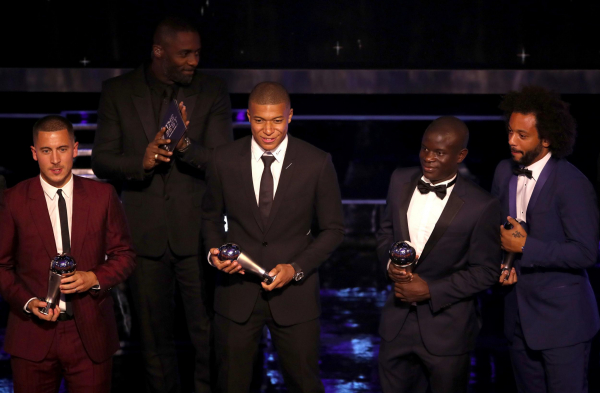 FIFPro World XI: Chelsea duo Eden Hazard and NGolo Kante included with Manchester Uniteds David De Gea