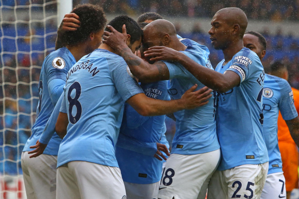 Pep Guardiola hails exceptional Manchester City after five-star response against Cardiff
