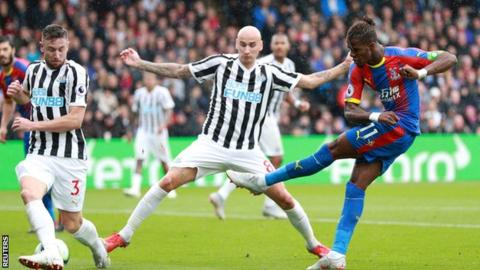 Newcastle still winless after draw at Palace