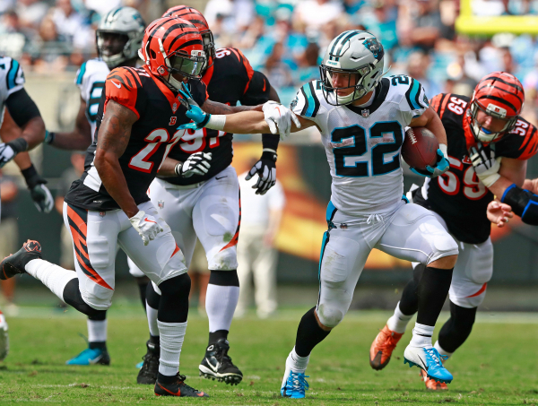 Bengals defense surprised, flattened by Panthers