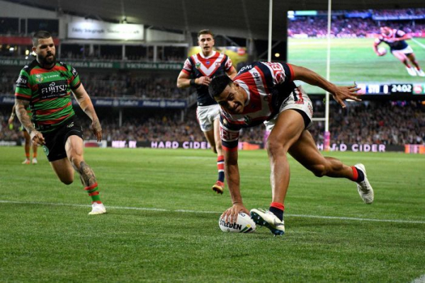 Roosters hold off Souths to set up grand final against Storm