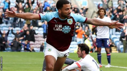 Burnley thrash Bournemouth for first win
