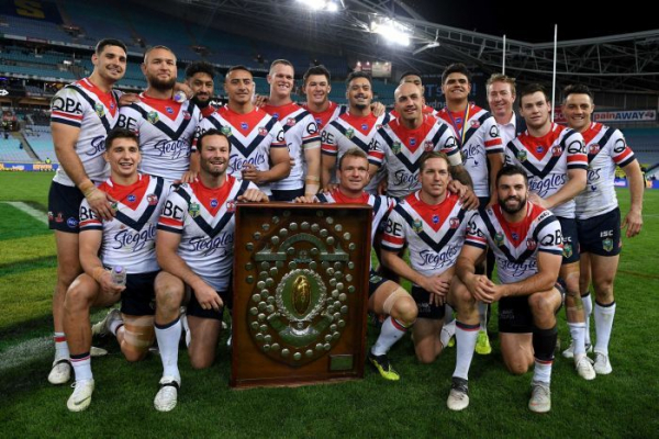 Roosters snatch NRL minor premiership from Storm's grasp