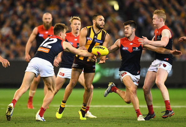 Melbourne's premiership hopes hit new heights after putting Hawthorn to the sword