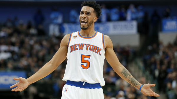 Knicks' Courtney Lee denies report he wants to be traded to contender