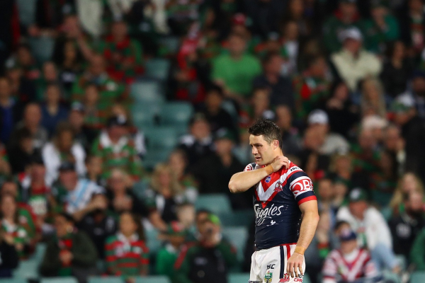 Roosters beat Rabbitohs as Storm hires top lawyer to fight Slater's 'shoulder charge'