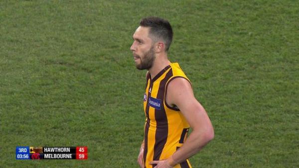 AFL finals 2018 Hawthorn v Melbourne: Jack Gunston's costly miss leads to Demons goal