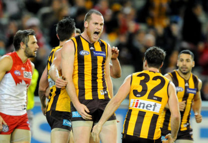 Roughead to stay with Hawks: Clarkson