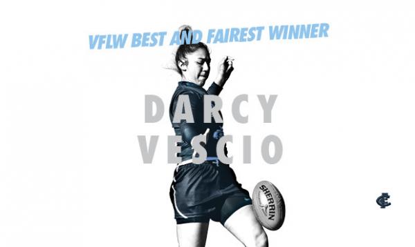 Vescio crowned VFLW B&F
