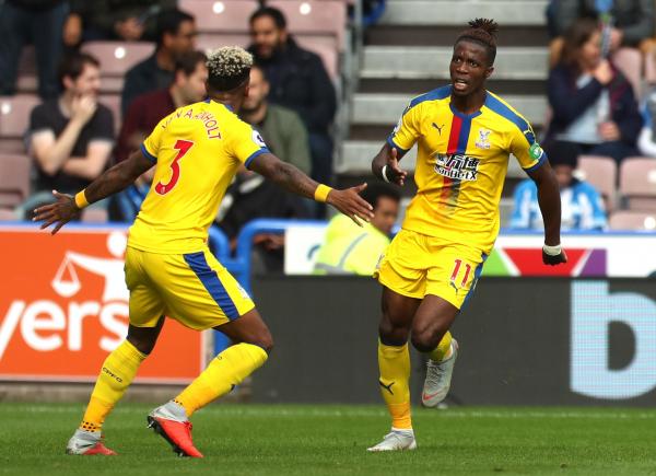 Huddersfield 0 Crystal Palace 1: Wilfried Zaha hits stunning winner as Eagles end losing run