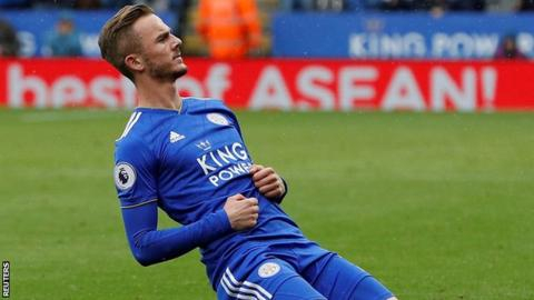 Maddison & Vardy complete Leicester turnaround against Huddersfield